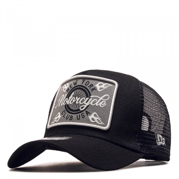 Cap Trucker Motor Club Black