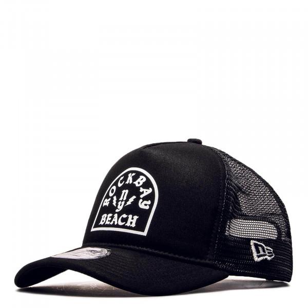 Cap Trucker Rockbay Beach Black