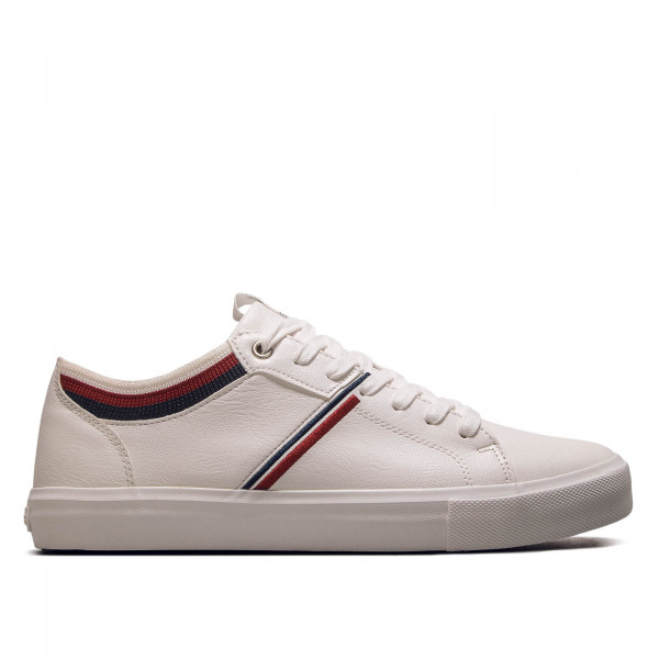 Herren Sneaker Woodward College White Navy
