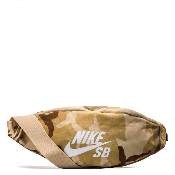 Nike Hip Bag Heritage Aop Camo Brown