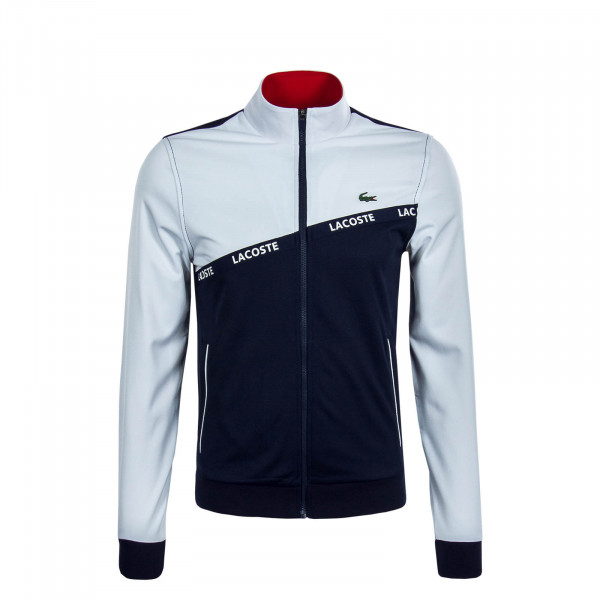 Herren Trainingsjacke 8651 White Navy