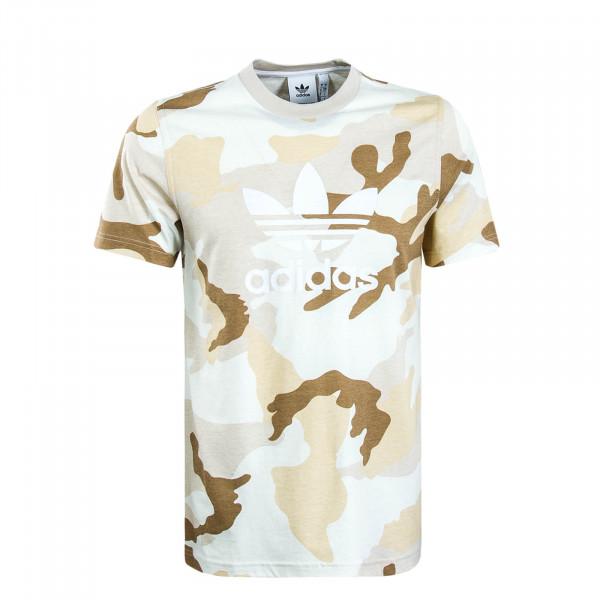 Herren T-Shirt 6953 Camouflage Beige Brown