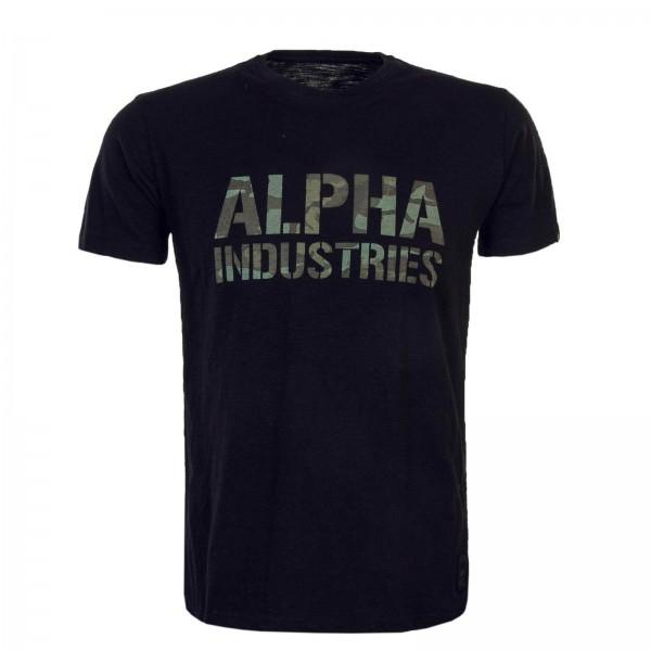 Alpha TS Camo Print Black Olive