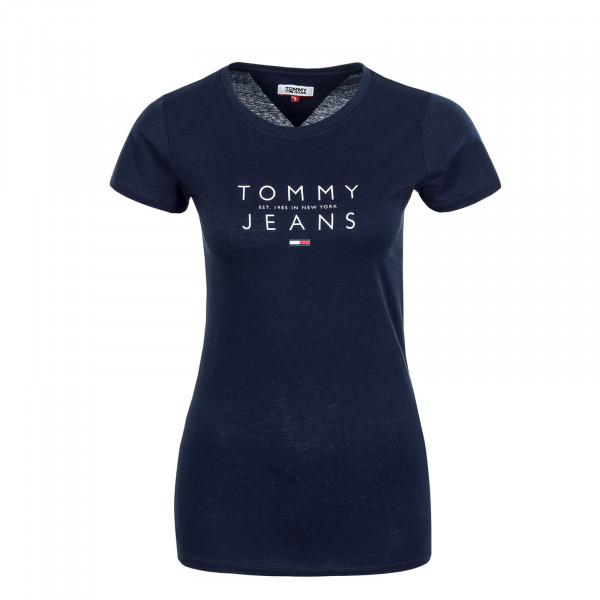 Damen T-Shirt Essential Logo 8470 Twilight Navy