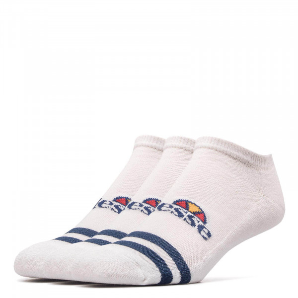 Ellesse Socks 3 Pk Melna White