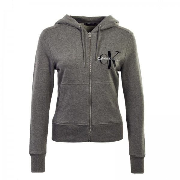 CK Wmn Sweatjkt Hali Grey