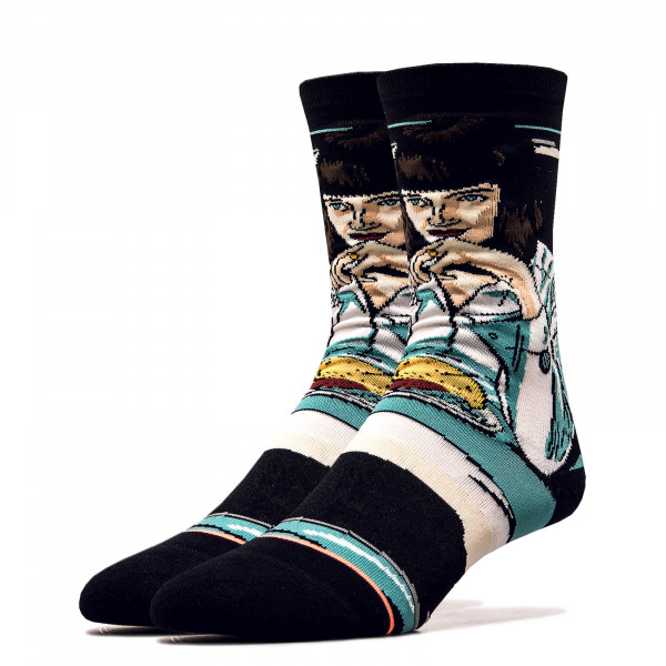 Socken Pulp Fiction Mia Booth Black
