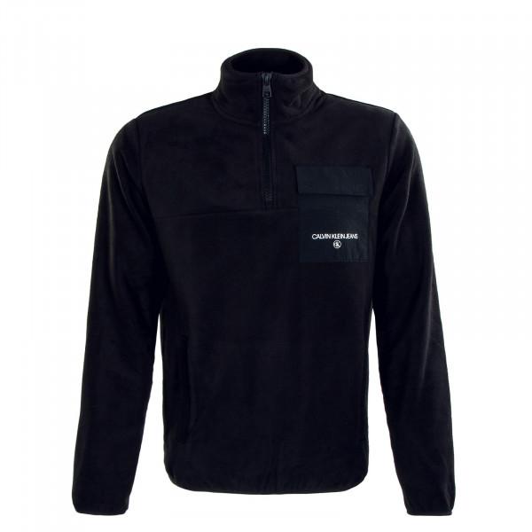 Herren Pullover Polar Utility Full Zip Black