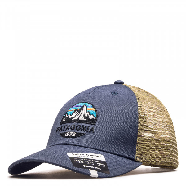 Cap Trucker Fritz Roy Blue Beige