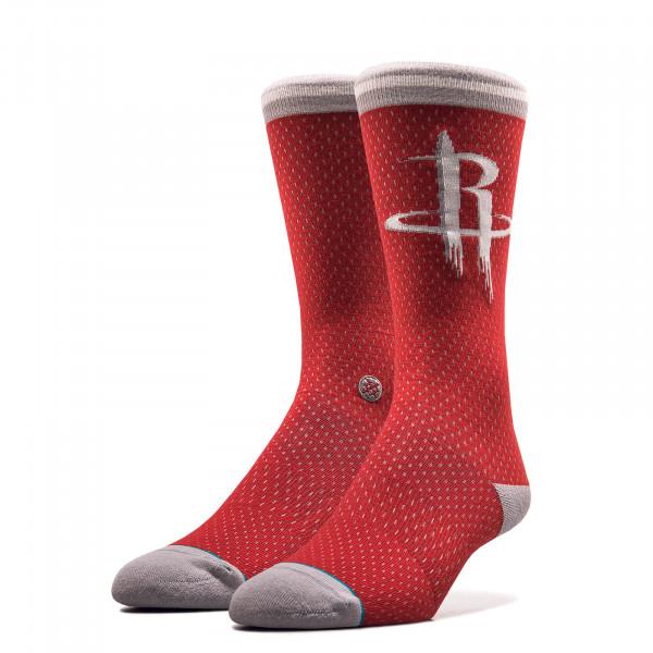 Unisex Socken NBA Rockets Red Grey