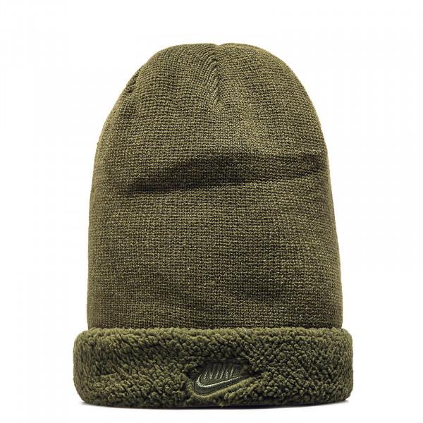 Nike Beanie Sherpa Olive