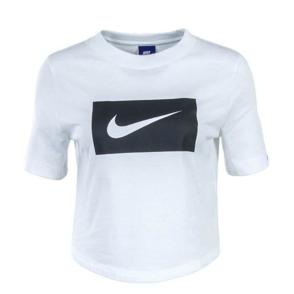 Nike Wmn TS Crop NSW White Black