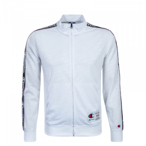 Champion Sweatjacke Zip Allover White
