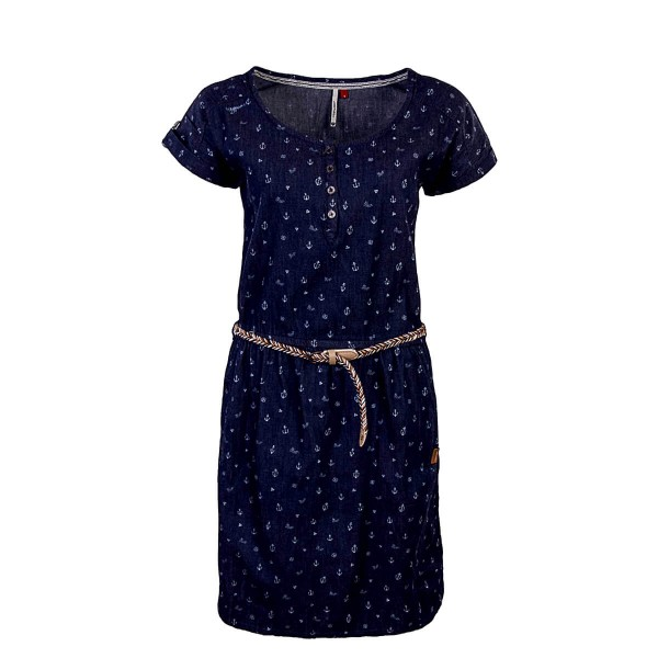 Ragwear Dress Genna Dark Blue