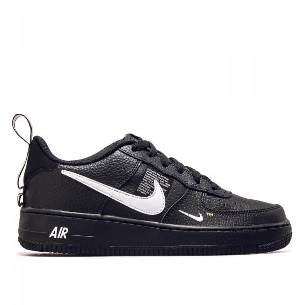 Nike Wmn Air Force 1 Black White Yellow