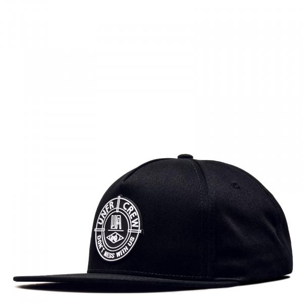 Basecap DMWU Snapback Black White