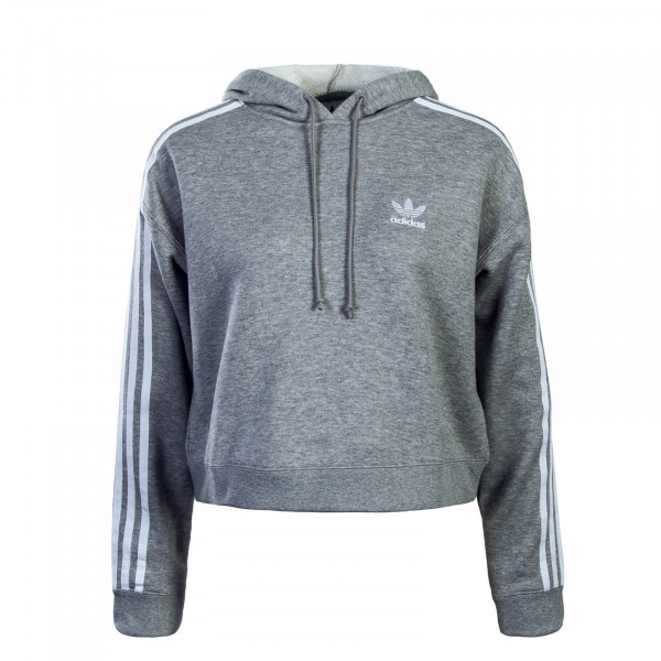 Adidas Wmn Hoody Crop Nov Sweater Grey