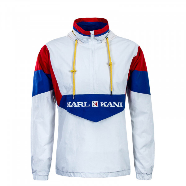 Herren Windrunner Retro Block White Red Blue
