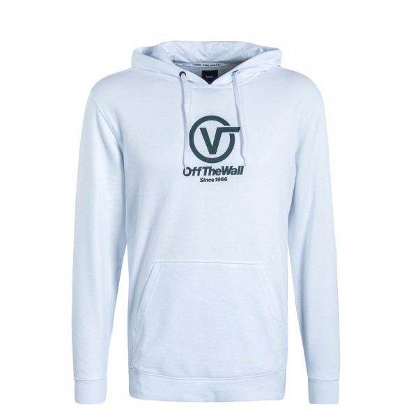 Herren Hoody Distorted Performance White