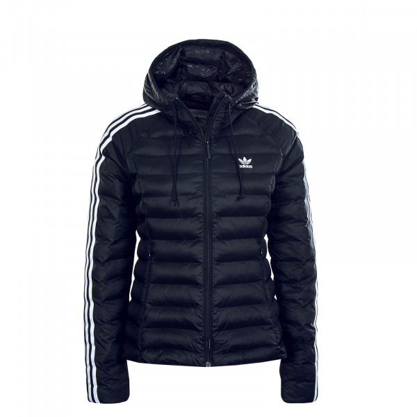 Damen Jacke Slim Black White