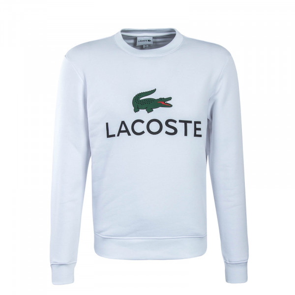 Herren Sweatshirt SH0605 White Black