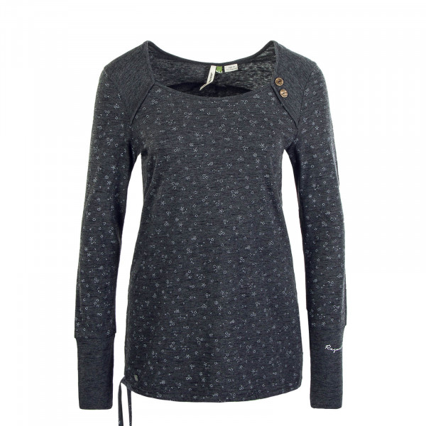 Damen Longsleeve Mike Organic Black
