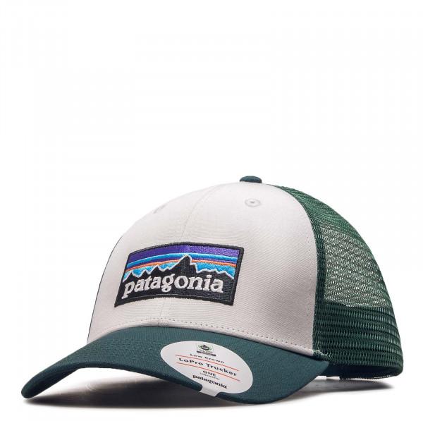 Cap Logo White Green