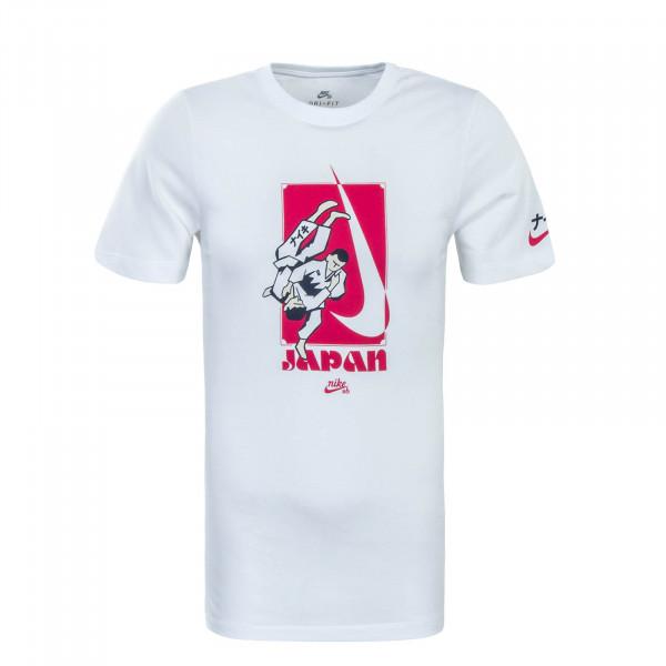 Herren T-Shirt  Dry Karate White Red