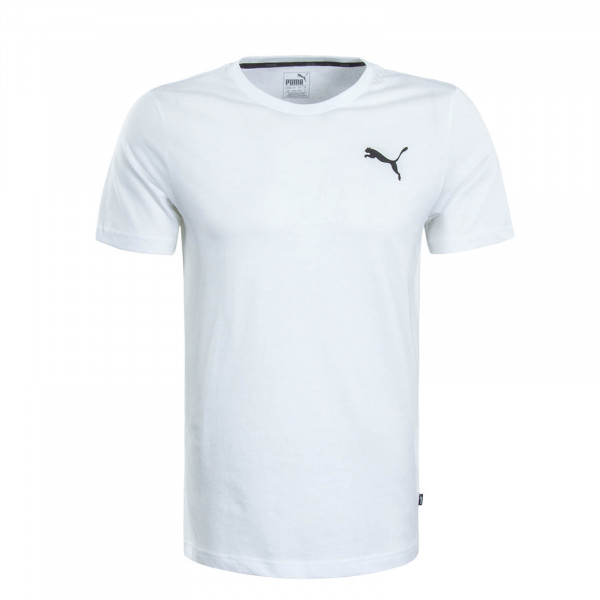 Herren T-Shirt Small Logo White