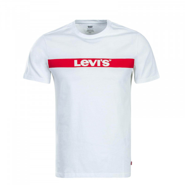 Levis T-Shirt Graphic White Red