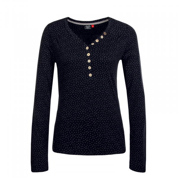 Damen Longsleeve Pinch Black