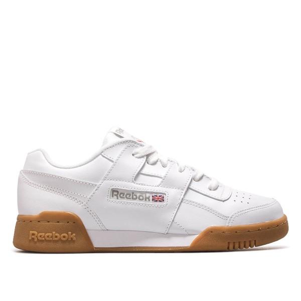 Reebok Workout Plus White Brown