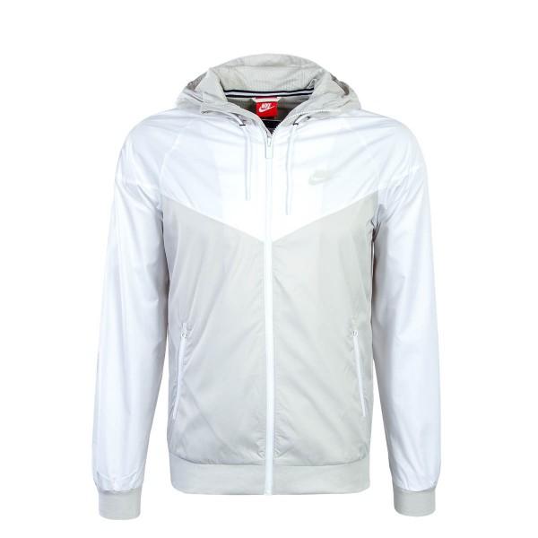 Nike Jkt Windrunner Beige White