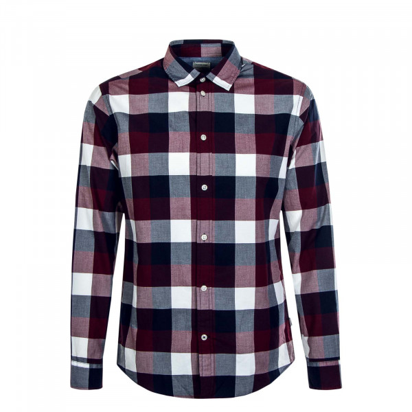 Herren Hemd Plain Check Port Royal