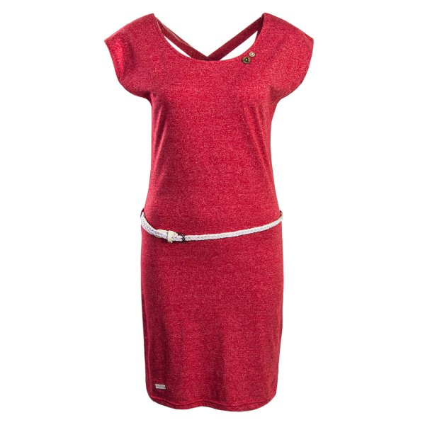 Ragwear Wmn Dress Sofia Red Melange