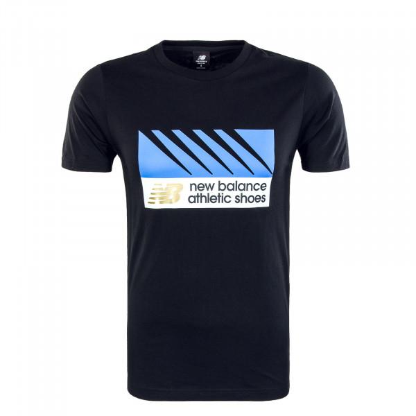 Herren T-Shirt MT03507 NB Athletics Village Black