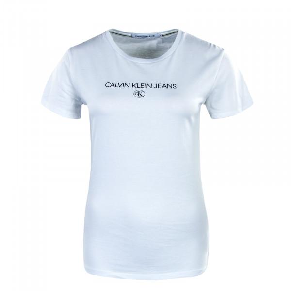 Damen T-Shirt - Institutional Logo 4790 - Bright White
