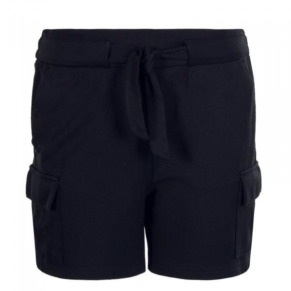 Damen Short Poptrash Cargo Black