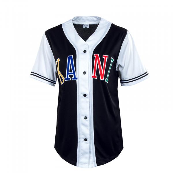Damen Shirt - KK College Baseball - Black