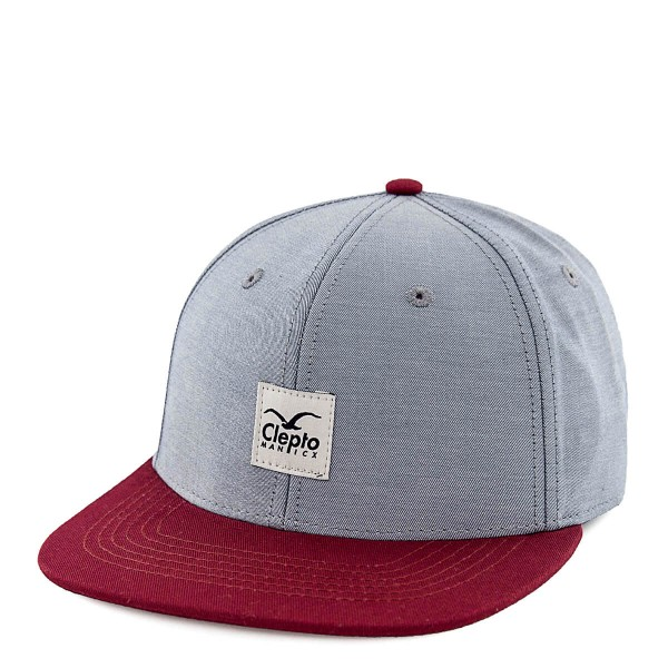 Clepto Cap Badger Twill Blue Bordo