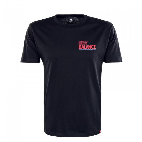 Herren T-Shirt MT03511 Essentials Speeder Black