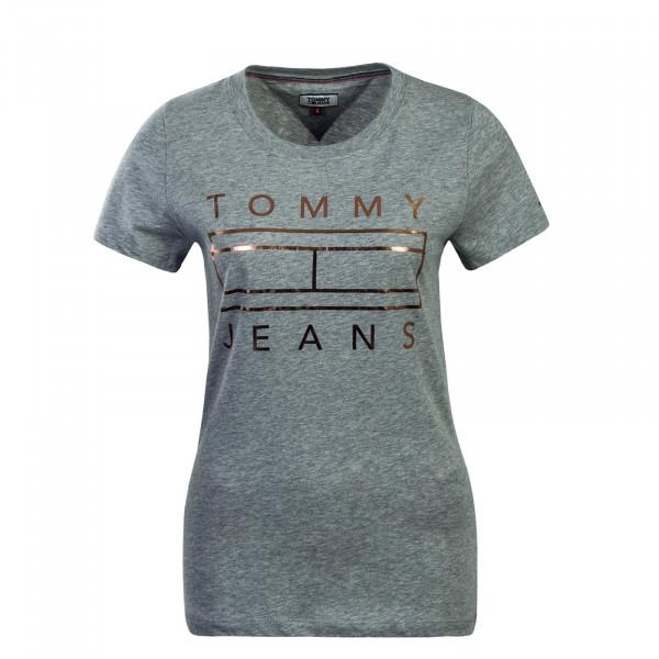 Tommy Wmn TS Metallic Grey Gold