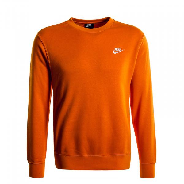 Herren-Sweater Club NSW Orange White