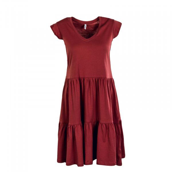 Damen Kleid - May Life Cap Frill - Apple But