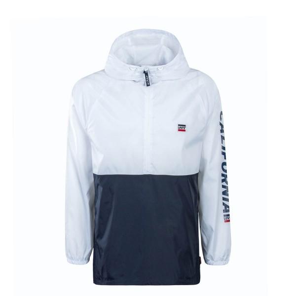 Levis Anorak Sport White Navy