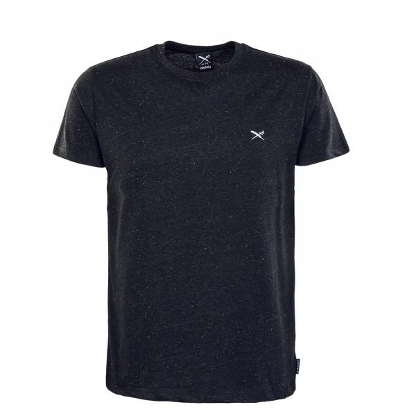 Herren T-Shirt - Retain - Black / Melange