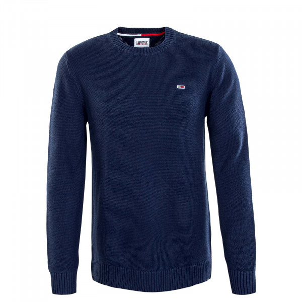 Herren Pullover - Essential Crew Neck - Knit Navy