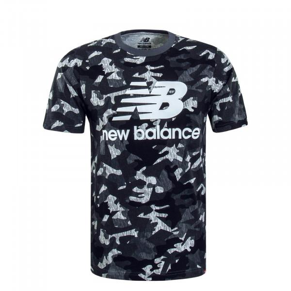 Herren T-Shirt MT93586 Camouflage Grey
