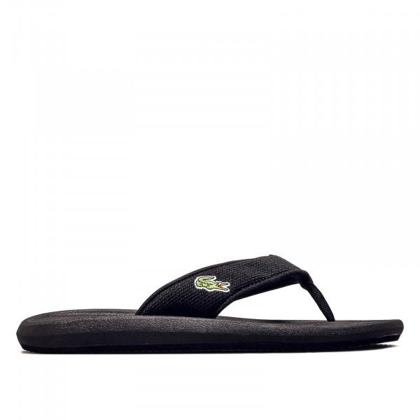 Herren Slide 016 Croco 219 Black