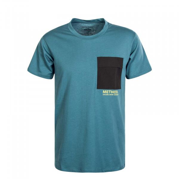 Herren T-Shirt Awake Tee SS Crew North Atlantic